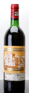 Red Bordeaux, Chateau Ducru Beaucaillou 1982 . St. Julien. ts, scl, nc.Bottle (1). ... (Total: 1 Btl. )