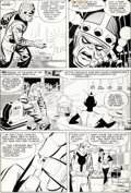 Original Comic Art:Panel Pages, Jack Kirby and Don Heck Tales To Astonish #49 Giant-Man Page5 Original Art (Marvel, 1963)....