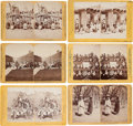 American Indian Art:Photographs, SIX NEW MEXICO STEREOVIEWS BY HENRY BROWN - BENNETT AND BROWN...(Total: 6 Items)