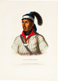 American Indian Art, 15 HAND-COLORED LITHOGRAPHS. c. 1844... (Total: 15 Items)