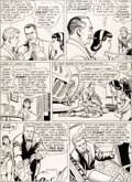 Original Comic Art:Panel Pages, Curt Swan and George Klein Superman's Pal Jimmy Olsen #75Page 7 Original Art (DC, 1964)....