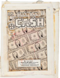 Original Comic Art:Miscellaneous, Richie Rich Cash #15 Unused Cover Production Art (Harvey,1976)....