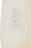 "Original Comic Art:Miscellaneous, Gene Ware Snow White and the Seven Dwarfs ""Grumpy""Preliminary Original Art (Walt Disney, c. 1980s)...."