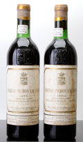 Red Bordeaux, Chateau Pichon Lalande 1970 . Pauillac. 2bn, 2bsl, 2nl,2lcc. Bottle (2). ... (Total: 2 Btls. )
