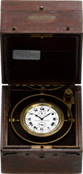 Timepieces:Other , Elgin Father Time 21 Jewel Deck Watch With Wind Indicator, circa1918. ...