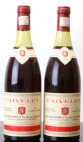Red Burgundy, Nuits St. Georges 1976 . Clos de la Marechale, Faiveley .1(3.7cm), 1(4.1cm). Bottle (2). ... (Total: 2 Btls. )