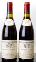 Red Burgundy, Bonnes Mares 1989 . L. Jadot . 2lnl. Bottle (2). ... (Total:2 Btls. )
