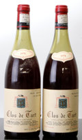 Red Burgundy, Clos de Tart 1978 . Mommessin . 1(5.7cm), 1(6.3cm), 2lbsl,1lscl, 2lcc, 1ssos. Bottle (2). ... (Total: 2 Btls. )