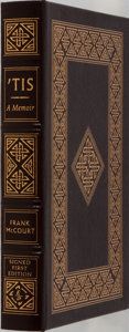 Books:Biography & Memoir, Frank McCourt. SIGNED/LIMITED. 'Tis. Easton Press, 1999.First edition, first printing. Limited to 1600 number...