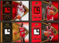 "Basketball Cards:Lots, 2008-09 UD ""Michael Jordan Legacy"" Jersey Group (4) - All LimitedEdition. ..."