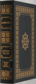 Books:Biography & Memoir, Edward Teller. SIGNED/LIMITED. Memoirs. Easton Press, 2001.First edition, first printing. Limited to 1225 numbere...