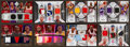Basketball Cards:Lots, 2000's SD Game Used & Upper Deck Basketball Jersey Swatch Group (8) - All Dual Player Inserts. ...