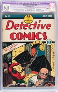 Golden Age (1938-1955):Superhero, Detective Comics #29 Trimmed (DC, 1939) CGC Apparent FN+ 6.5 Slight (P) Cream to off-white pages....