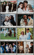 "Movie Posters:Comedy, The Hotel New Hampshire & Others Lot (Orion, 1984). Mini Lobby Card Sets of 8 (2) (8"" X 10"") & Lobby Card Sets of 4 (3) (8"" ... (Total: 28 Items)"