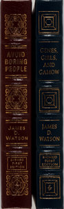 Books:Biography & Memoir, [DNA]. James D. Watson. Group of Two Signed/Limited First Edition Books Published by Easton Press. First edition, first prin... (Total: 2 Items)