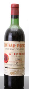 Red Bordeaux, Chateau Figeac 1966 . St. Emilion. hs, bsl, nl, lcc. Bottle(1). ... (Total: 1 Btl. )