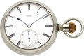Timepieces:Pocket (pre 1900) , Adolph Lange Dresden Early First Quality Movement No. 8320, circa1872 . ...
