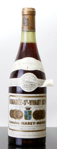 Red Burgundy, Romanee St. Vivant 1970 . Marey-Monge . lscl, lcc. Bottle(1). ... (Total: 1 Btl. )
