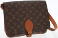 Luxury Accessories:Bags, Louis Vuitton Classic Monogram Canvas Saddlebag with ShoulderStrap. ...
