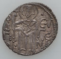 Ancients:Byzantine, Ancients: Empire of Trebizond. Manuel I Comnenus, 1238-63, AR asper(2.89g, 24mm)....