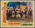 "Movie Posters:Black Films, The Bronze Venus (Toddy Pictures, R-1943). Lobby Card (11"" X 14"").Black Films. Also known as The Duke is Tops.. ..."
