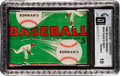 Baseball Cards:Unopened Packs/Display Boxes, 1954 Bowman Baseball Five Cent Wax Pack GAI Pristine 10! ...