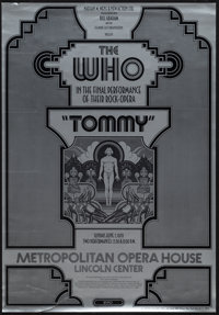 """The Who (1969-1970). Concert Posters (2) (18"""" X 26"""" & 23"""" X 37""""). Rock and Roll. ... (Total:..."""