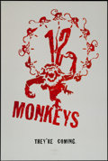 "Movie Posters:Science Fiction, Twelve Monkeys (Universal, 1995). One Sheet (27"" X 40"") DS Advance.Science Fiction.. ..."