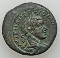 Ancients:Roman Provincial , Ancients: MOESIA INFERIOR. Gordian III and Tranquillina (AD238-244). Lot of two AE.... (Total: 2 coins)