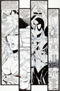 Original Comic Art:Panel Pages, Todd McFarlane The Amazing Spider-Man #320 Page 29 OriginalArt (Marvel, 1989)....