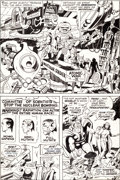 Original Comic Art:Panel Pages, Jack Kirby and Vince Colletta Thor #163 Page 15 Original Art(Marvel, 1969)....