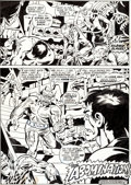 Original Comic Art:Panel Pages, Herb Trimpe and Sal Buscema Incredible Hulk #136 TheAbomination Page 19 Original Art (Marvel, 1971)....