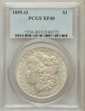 Morgan Dollars: , 1895-O $1 XF40 PCGS. PCGS Population (480/2776). NGC Census:(351/2951). Mintage: 450,000. Numismedia Wsl. Price for proble...