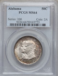 Commemorative Silver: , 1921 50C Alabama MS64 PCGS. PCGS Population (820/524). NGC Census:(797/449). Mintage: 59,038. Numismedia Wsl. Price for pr...