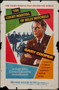 """Movie Posters:War, The Court-Martial of Billy Mitchell (Warner Brothers, 1956). OneSheet (27"""" X 41"""") and Lobby Card (11"""" X 14""""). War.. ..."""