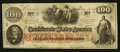 Confederate Notes:1862 Issues, T41 $100 1862 PF-7 Cr. 417.. ...
