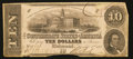 Confederate Notes:1862 Issues, T52 $10 1862 PF-8 Cr. 378A.. ...