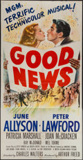 "Movie Posters:Musical, Good News (MGM, 1947). Three Sheet (41"" X 78.5""). Musical.. ..."