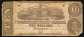 Confederate Notes:1862 Issues, T52 $10 1862 PF-2 Cr. 376.. ...