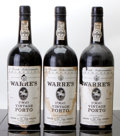Warre's Vintage Port 1960 1ts, 1hs, 2lwisl, 2ltal, 3lcc, 2ssos Bottle (3)