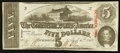 Confederate Notes:1863 Issues, T60 $5 1863 PF-21 Cr. 459.. ...