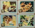 """Movie Posters:Animation, Mr. Bug Goes to Town (NTA, R-1959). Lobby Cards (4) (11"""" X 14""""). Reissued as Hoppity Goes to Town. Animation.. ... (Total: 4 Items)"""