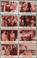 "Movie Posters:Exploitation, Hot Rods to Hell (MGM, 1967). Lobby Card Set of 8 (11"" X 14""). Exploitation.. ... (Total: 8 Items)"