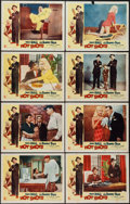 "Movie Posters:Comedy, Hot Shots (Allied Artists, 1956). Lobby Card Set of 8 (11"" X 14""). Comedy.. ... (Total: 8 Items)"