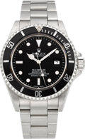 Timepieces:Wristwatch, Rolex Ref. 16600 Sea Dweller 4000 Superlative Chronometer Officially Certified, circa 2002. ...