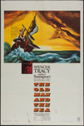 "Movie Posters:Adventure, The Old Man and the Sea (Warner Brothers, 1958). One Sheet (27"" X41"") & Lobby Card Set of 8 (11"" X 14""). Adventure.. ... (Total:9 Items)"