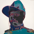 Prints, ANDY WARHOL (American, 1928-1987). Teddy Roosevelt (from the Cowboys and Indians portfolio), 1986. Screenprint on Lenox ...