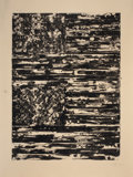 Prints:Contemporary, JASPER JOHNS (American, b. 1930). Two Flags, 1980.Lithograph in colors. 47-3/4 x 36-1/4 inches (121.3 x 92.1 cm). Ed.2...