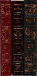 Books:Science Fiction & Fantasy, Greg Bear. Group of Three Signed/Limited First Edition Books Published by Easton Press. First edition, first printing. Eac... (Total: 3 Items)