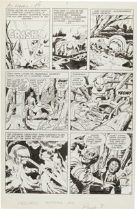 Jack Kirby and Joe Simon The Double Life of Private Strong #1 Story Page 2 Original Art (Archie, 1959)